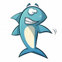 Картинки акул для срисовки (22 фото)