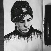 Рисунки карандашом для срисовки Ривердейл (11 фото)