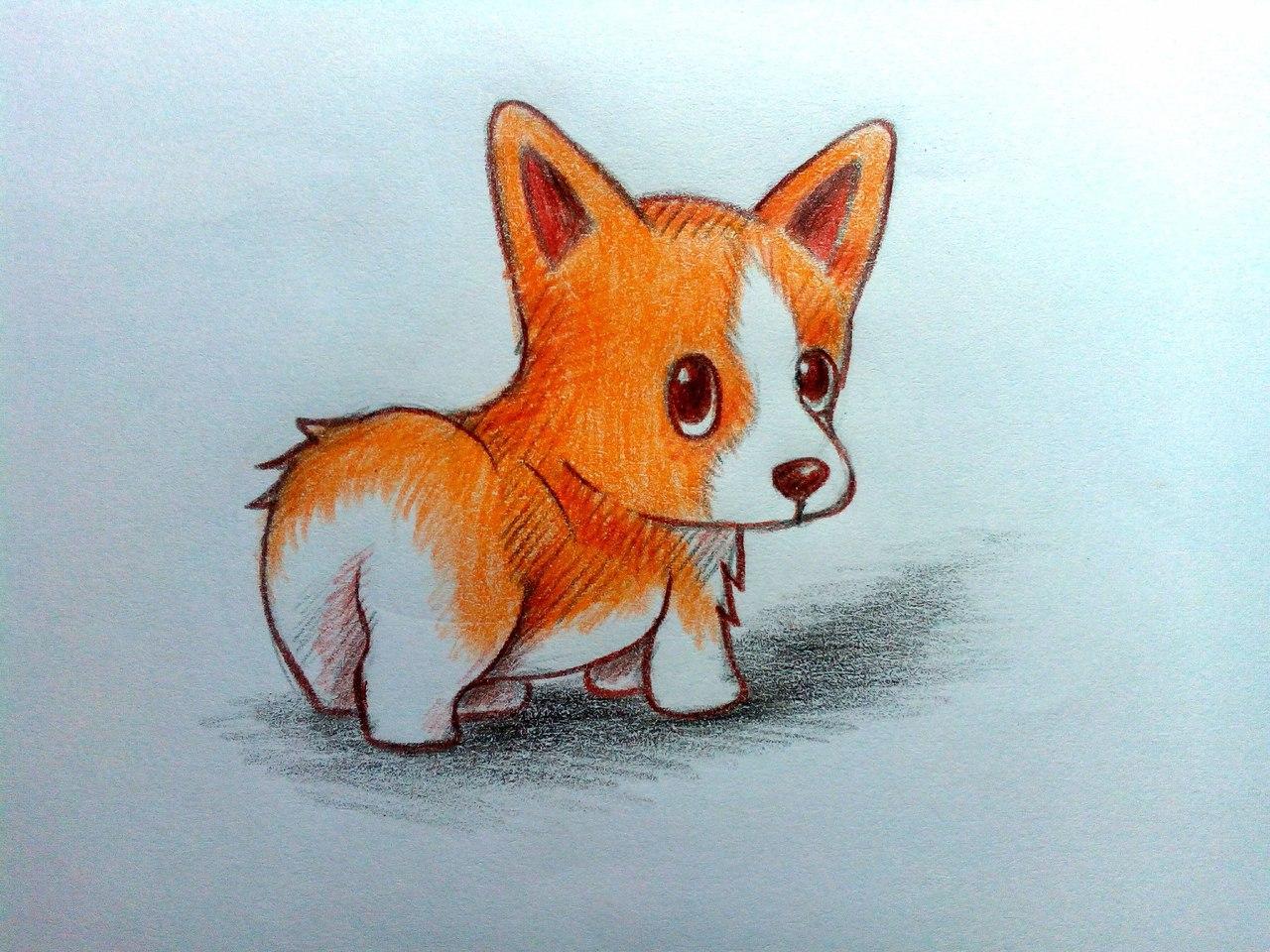 композиции красивые и милые картинки для срисовывания цветными карандашами тяжелой форме