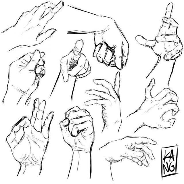 это рисуем левой рукой картинки сути