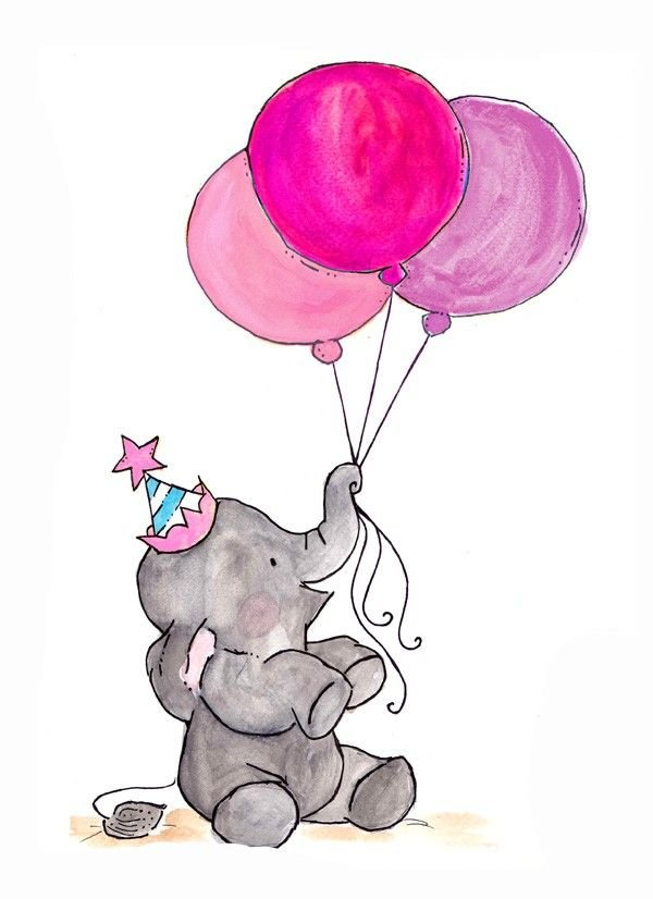 Прикольные картинки для срисовки с днем рождения