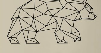 Геометрические рисунки для срисовки (23 фото)
