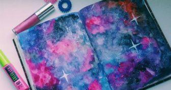 Красивые картинки для срисовки красками (30 фото)