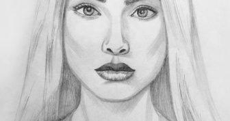 Картинки для срисовки людей (21 фото)