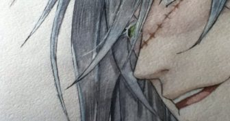 Картинки для срисовки Темный Дворецкий (15 фото)