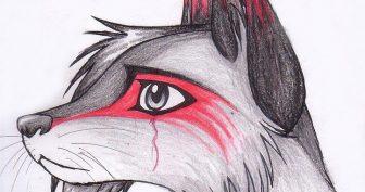Картинки лисы для срисовки карандашом (27 фото)