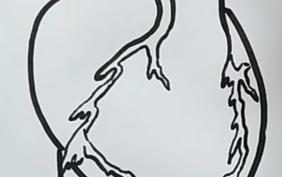 Рисунки карандашом для срисовки разбитое сердце (17 фото)