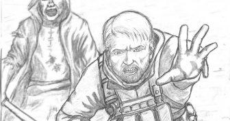 Рисунки из игр карандашом для срисовки (16 фото)