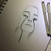 Картинки для срисовки Билли Айлиш (18 фото)