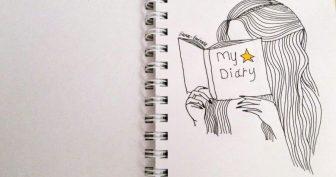 Картинки для срисовки в артбук (26 фото)