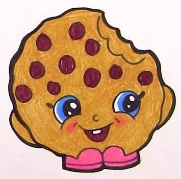 Картинки для срисовки печенье