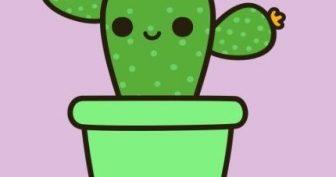 Картинки для срисовки кактусы (23 фото)