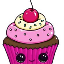 Картинки для срисовки кексы (16 фото)