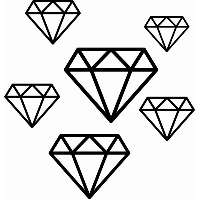 алмаз картинки распечатать для лишились двух