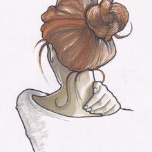 Крутые рисунки для срисовки для девочек (34 фото)