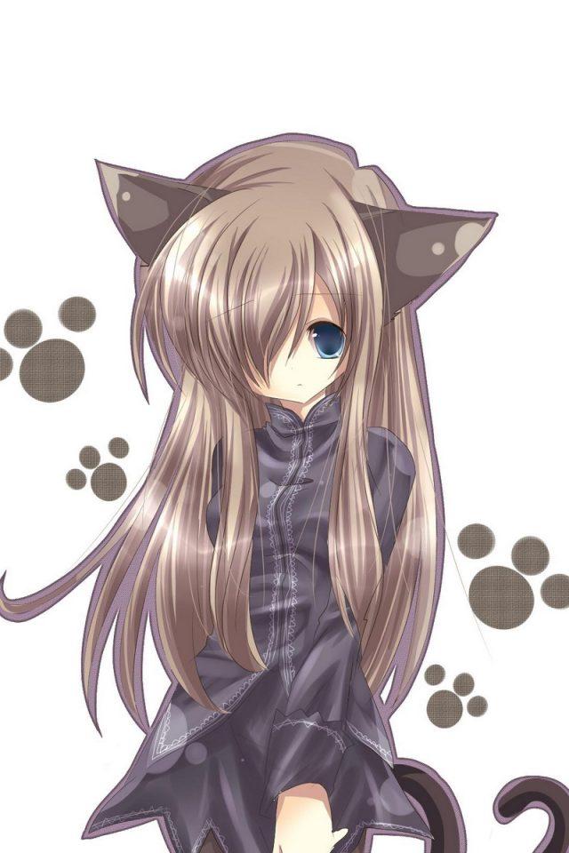 Аниме Девушки Картинки Кошки