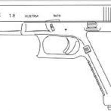 Картинки оружия для срисовки (20 фото)