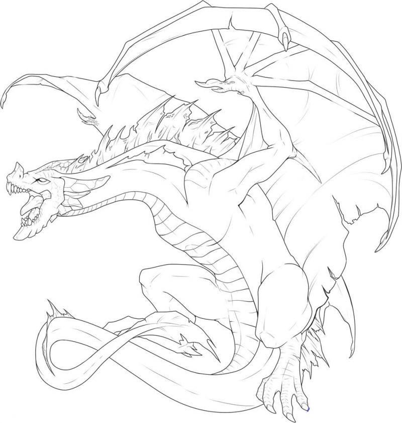 Картинки для срисовки дракон поэтапно