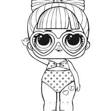 Картинки кукол Лол для срисовки 2 серия (33 фото)