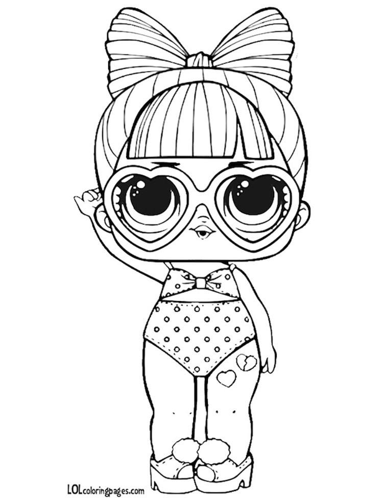 Картинки кукол Лол для срисовки 2 серия (33 фото ...
