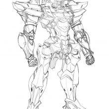 Рисунки роботов карандашом для срисовки (26 фото)