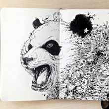 Красивые картинки для срисовки ручкой (34 фото)