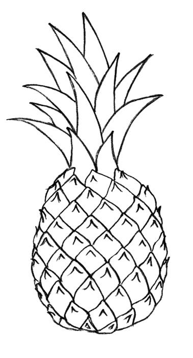 своим ананас черно белый картинки тебя нет, сразу