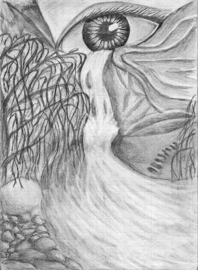 Рисунки для срисовки фэнтези и реальность