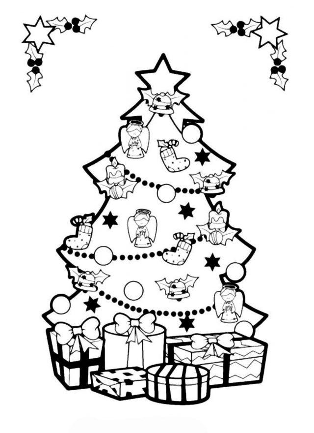 Новогодние рисунки для срисовки (32 фото) 🔥 Прикольные ...