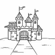 Картинки замков для срисовки (27 фото)