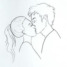 Простые рисунки людей для срисовки (26 фото)