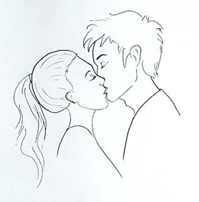 Простые рисунки людей для срисовки (26 фото) 🔥 Прикольные ...
