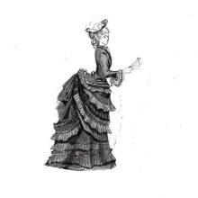 Рисунки для срисовки девочки в полный рост (35 фото)