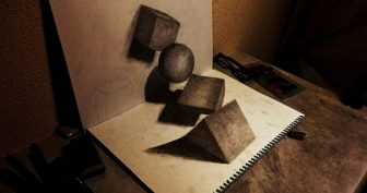 Объемные рисунки для срисовки (29 фото)