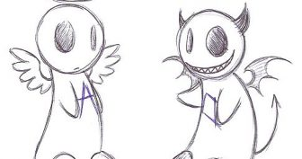 Картинки для срисовки демоны (48 фото)