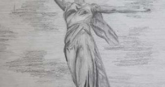 Рисунки карандашом для срисовки Родина Мать (15 фото)