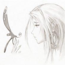 Эскизы рисунков для срисовки (31 фото)
