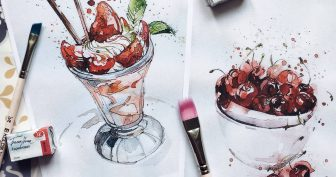 Скетчи для срисовки карандашом для начинающих (31 фото)