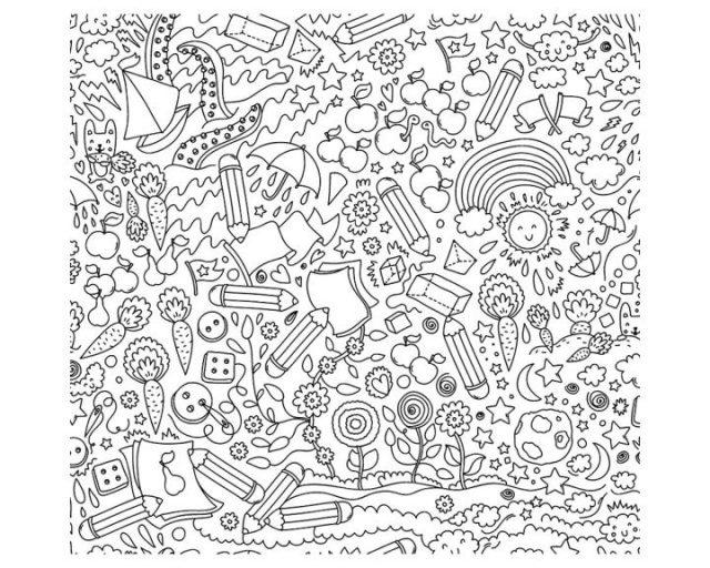 Рисунки антистресс легкие для срисовки для начинающих (33 ...