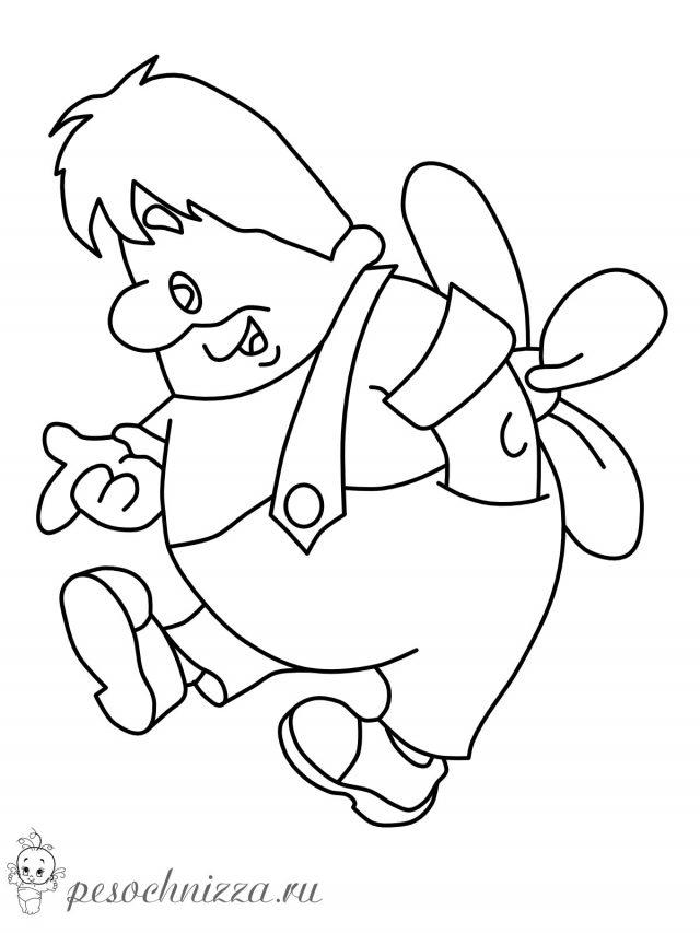 Рисунки карандашом для срисовки из мультфильмов (38 фото ...