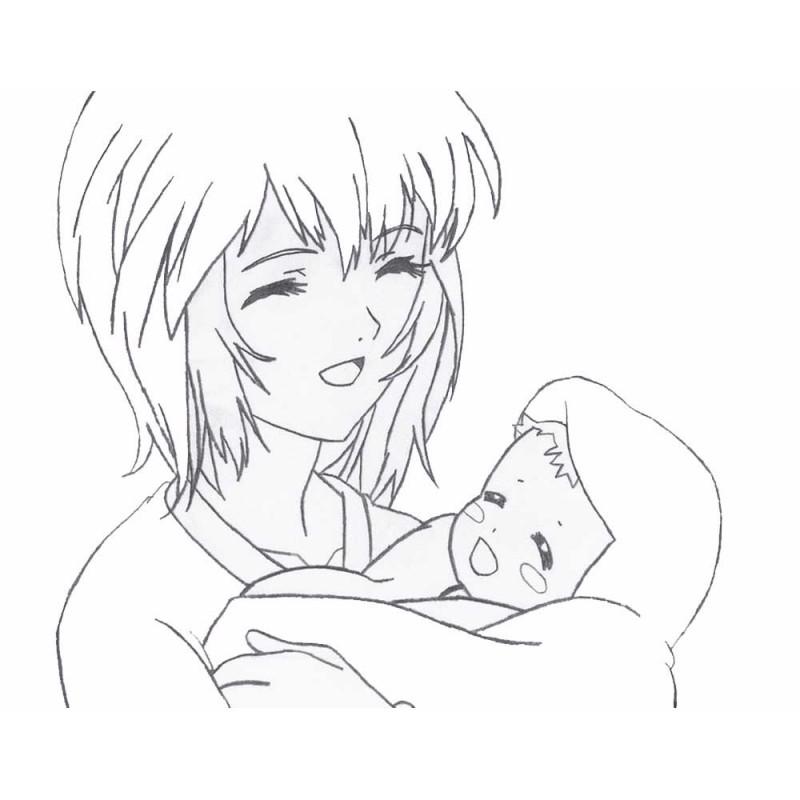 Картинки для срисовки для любимой мамы