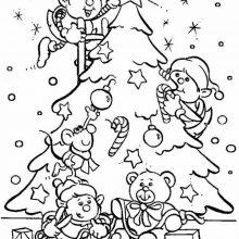Новогодние рисунки для срисовки (32 фото)