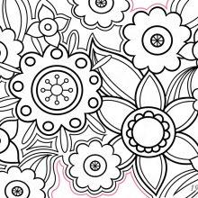 Рисунки антистресс легкие для срисовки для начинающих (33 фото)