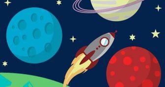 Рисунки для срисовки ракеты (30 фото)