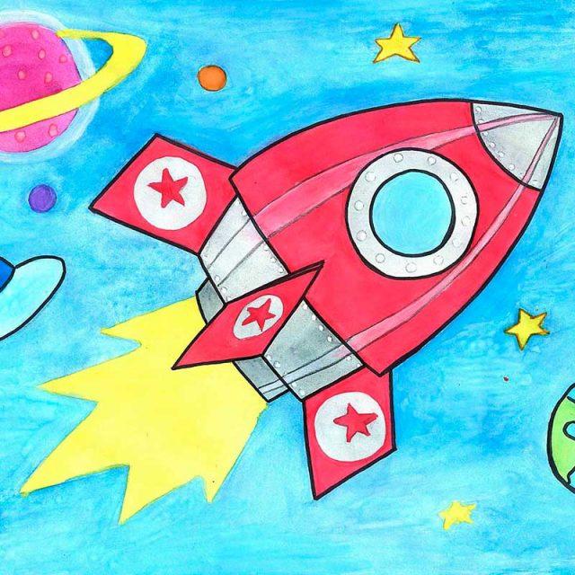 картинки про космос нарисовать отношения перешли
