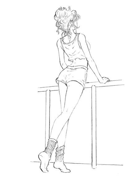 Рисунки для срисовки девочки в полный рост (35 фото ...