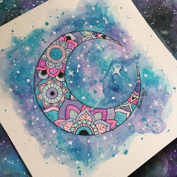 Картинки для срисовки космоса
