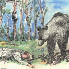Рисунки карандашом «Два товарища» Л.Н. Толстой (19 фото)