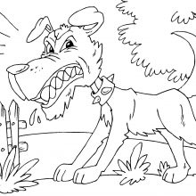 Картинки для срисовки злые собаки (18 фото)