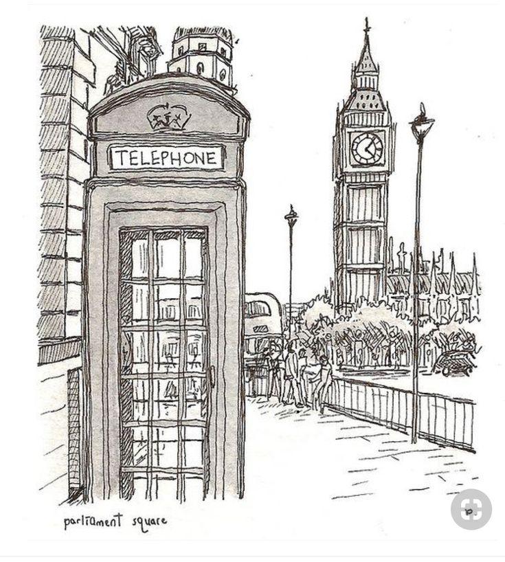 Картинки лондона распечатать